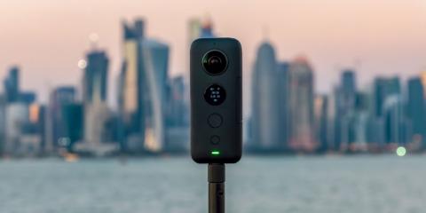 360°カメラ撮影